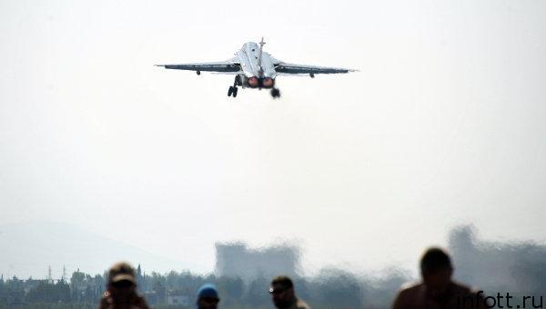 ВКСнанесли удары потеррористам вСирии