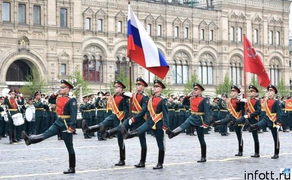 Репетиция парада в 2020 году в Москве начнется за месяц до 9 мая