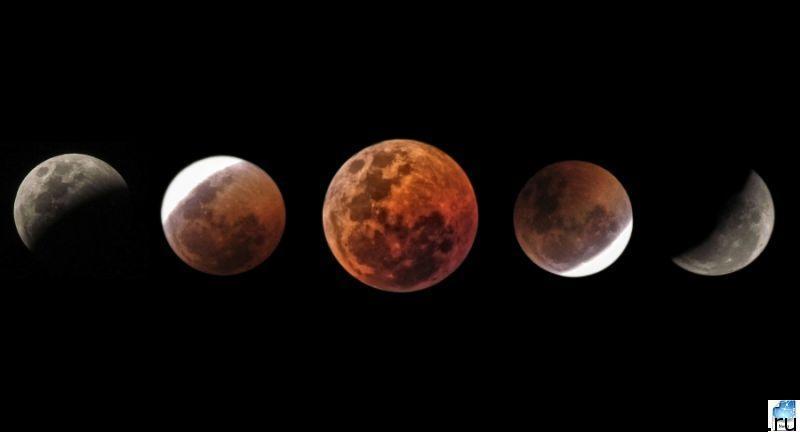 Затмение луны 17 июля 2019 года  откуда видно в России и точное время. Влияние и значение для знаков зодиака