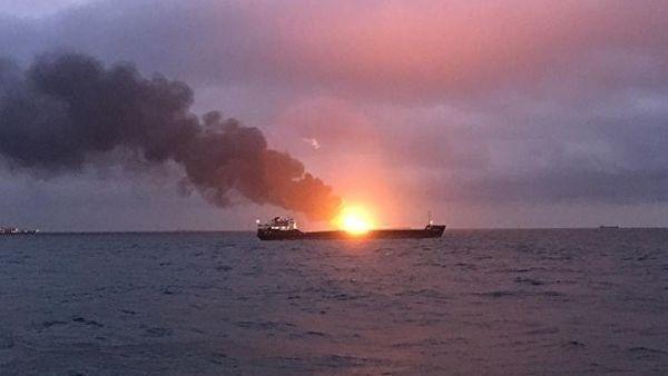 Пожар в Керченском проливе на кораблях: новости сегодня 22.01.2019, причина, видео